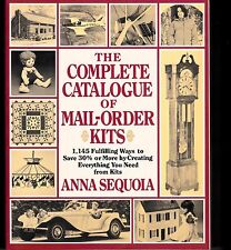 Complete Catalogue of Mail-Order Kits by Anna Seqouia--FREE SHIPPING