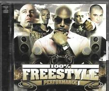 CD COMPIL 14 TITRES + DVD--100% FREESTYLE PERFORMANCE--MAFIA K1/YOUSSOUPHA...