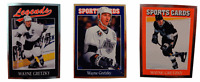 (3) Wayne Gretzky Odd-Ball Trading Card Lot