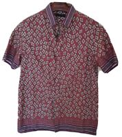 "Mens BURBERRY PRORSUM RUNWAY short sleeve shirt size 41"" medium.RRP £350"