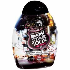 New European Gold Dark Star 100X Bronzer 8.5oz Tanning Bed Lotion USPS Priority