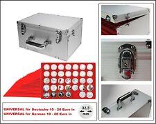 Look Aluminium Valise de Monnaies Gigant 15 Tab Rouge pour 525 10 IN 32,5 Pp