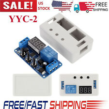 Dc 12v Led Delay Time Control Switch Relay Timer Module Pcb Board With Case G1n6