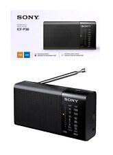 Taschenradio Sony ICF-P36 Tragbares Radio AM/FM-Tuner 100mW