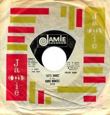 CHRIS MONTEZ - LET'S DANCE - JAMIE 45 - WHITE LABEL PROMO - 1973 REMAKE