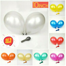 "100 Latex 12"" PEARL Metallic BALLOONS BALLONS Air & helium BALOONS Party Decor"