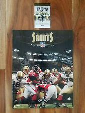 New Orleans Saints 2006 Official Team Yearbook Guide & FREE 2019 Schedule Card