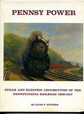 PENNSY POWER, STEAM AND ELECTRIC LOCOMOTIVES, STAUFER, 1962 1ST EDITION , Sale