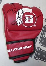 Fedor Emelianenko Signed Official Red Bellator MMA Fight Glove BAS COA Autograph