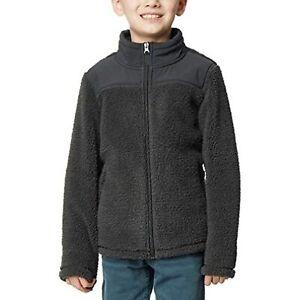 32 DEGREES Heat Boys' Sherpa Lined  Mix Media Fleece Jacket TINI {&}