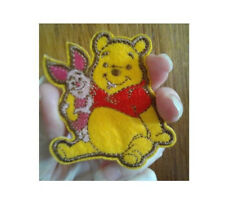 Winnie The Pooh - Bear - Piglet - Cartoon - Embroidered Iron On Applique Patch