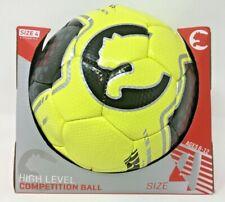 New Puma Official Size 4 Soccer Ball Football Yellow Black Gray
