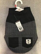 Molly & Olly Dog Apparel Grey Bomber Jacket XS RRP £25