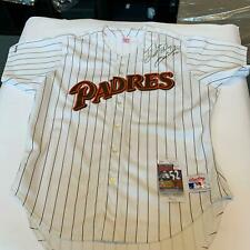 1992 Gary Sheffield Signed Authentic San Diego Padres Game Model Jersey JSA COA
