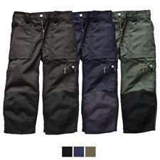 Pantaloni da uomo blu Dickies in cotone