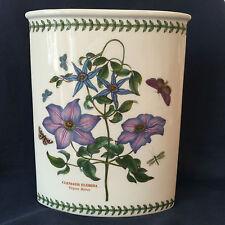 Portmeirion Botanic Garden Clematis Florida Virgin Bower Marquis Vase New in Box