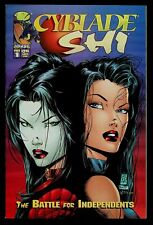 Cyblade/Shi: The Battle for Independents #1 NM- Winn, Silvestri, 1st Witchblade