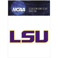 LSU Tigers Primary 2014 - Pres Logo NCAA Die Cut Vinyl Car Sticker Bumper Window