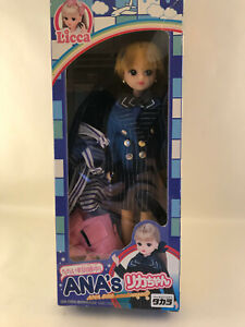 RARE LICCA Doll - ANA's Licca chan - Japanese Doll - Made in Japan - Rika/Licca