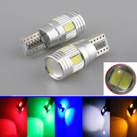 2x T10 5630 W5W 6-LED SMD FPC CANBUS Error Free Car Wedge Light Lamp Bulb