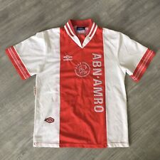 Ajax Amsterdam 1994 1995 Home Umbro Football Soccer Shirt VGC Rare Medium