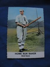 1961 Golden Press Home Run Baker card #21 MLB baseball $1 S&H