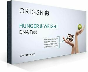 ORIG3N Genetic Home Mini DNA Test Collection Kit Hunger & Weight NEW