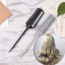 Dual side Hair Styling Dye Comb Oil Mask Pigment Mixing Tint Coloring Brush SE