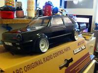 RC Karo VW Golf MK 2 GTI 1/10 scale body to fit Tamiya LRP HPI Yokomo, MST Drift