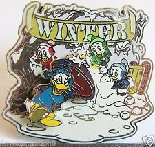 Disney Winter Donald Duck Nephews  Artist Proof AP Pin