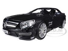 MERCEDES SL 65 AMG COUPE BLACK 1/24 DIECAST MODEL CAR BY BBURAGO 21066