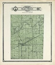 1907t Atlas Allen County Indiana pla map Land Owners Genealogy history Dvd P122