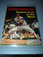 June 16 1975 Newsweek magazine w/Nolan Ryan cover. Great for autograph.