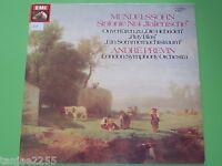 Mendelssohn - Previn - Symphonie Nr.4 / Sommernachtstraum## - EMI Club LP