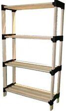 Portable Wooden Storage Shelf & Plant Stand