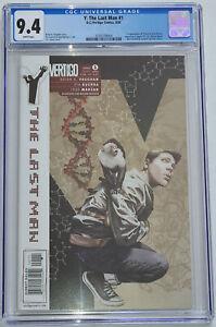 Y The Last Man #1 CGC 9.4 DC Comics Vertigo 2002