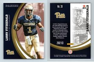 Larry Fitzgerald #39 Pittsburgh Panthers Collegiate 2016 Panini Trading Card