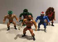 MOTU He Man Mattel Vintage Action Figure Bundle Job Lot 1980's