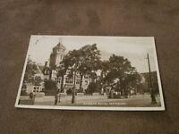 Real photographic Postcard - Royal Infirmary Hospital - Cardiff