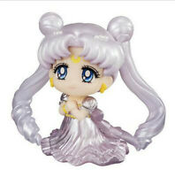 Tsukino Usagi Sailor Moon Princess Serenity Wedding Dress Silver PVC Figure 2""