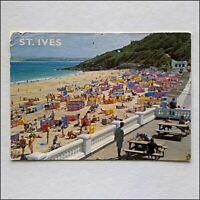 St Ives Porthminster Beach Postcard (P431)
