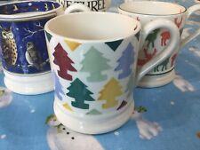 Emma Bridgewater Polka Christmas Trees 0.5pt Mug New Best.