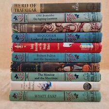 LANDMARK BOOKS Lot Roosevelt Henry Hudson Wyatt Earp Trafalgar Antoinett History