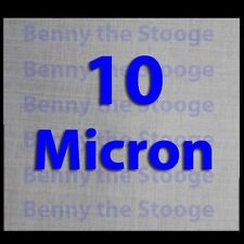 """5"""" x 5"""" Stainless Steel 10 Micron Filtration Screen / Mesh - 3 Pack"""