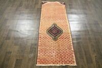 Traditional Antique Area Carpets Oriental 100% Wool Handmade Rugs 165 X 62 CM