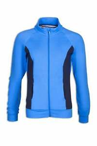 Camille Womens Ex Highstreet Blue Sports Work Out / Tracksuit Sports Jacket