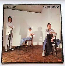 The Jam All Mod Cons NM1stPress Vinyl LP Paul Weller Mod Revival The Chords Mod