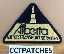 ALBERTA, CANADA MOTOR TRANSPORT SERVICES (POLICE) SHOULDER PATCH 2