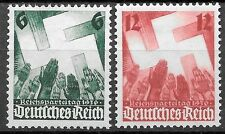 Germany Third Reich 1936 Mi# 632-633 MNH Nuremberg Congress **