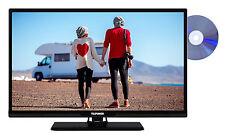 Telefunken WH24-EA11DV Fernseher mit DVD-Player 24 Zoll HD TV Triple-Tuner 12V